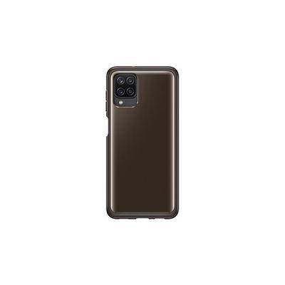 image Coque Transparente Noire pour Samsung Galaxy A12