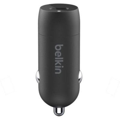 image Belkin Chargeur de voiture USB-C 20W BoostCharge (charge rapide pour iPhone, Samsung, Google Pixel, etc.)