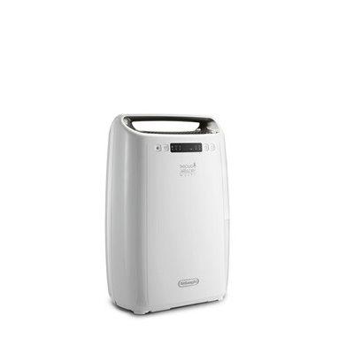 image De'Longhi DEXD214F Déshumidificateur, 290 W, 1,2 litres, plastique, blanc