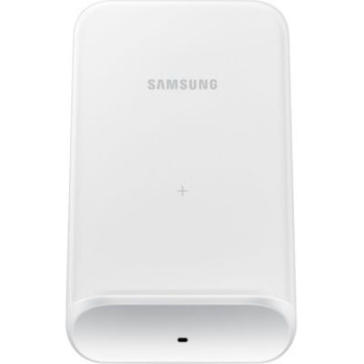 image Samsung Station de Charge sans Fil Convertible EP-N3300-9 W - Chargement Debout ou Tapis de Charge - pour Smartphones, écouteurs, écouteurs - Blanc