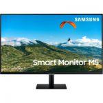 image produit Samsung Smart Monitor M5 27'' en resolution Full HD. Le 1er écran tout-en-un pour accéder facilement à vos applications de divertissement et travail - livrable en France