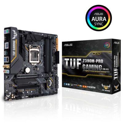 image Asus TUF Z390M-PRO GAMING WIFI Carte mère Intel Socket LGA 1151