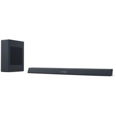 image Philips AVENT B8405/10 TV Barre de Son Caisson de Basse sans Fil (21 Canaux, 240 W, Bluetooth, Dolby Atmos, Hdmi Earc, Compatible Dts Play-Fi, Assistants Vocaux, Profil Bas) - Modèle 2020/2021