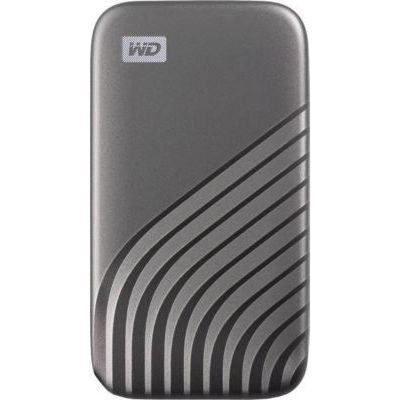 image WD My Passport SSD externe 500 Go (NVMe, USB-C, 1050 Mo/s) - Gris sidéral