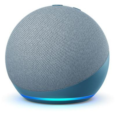 image Nouvel Echo Dot (4e génération), Enceinte connectée avec Alexa, Bleu-gris