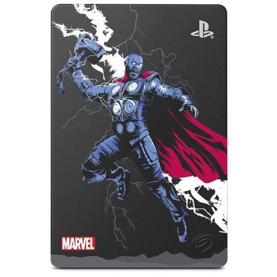 """image Seagate Game Drive pour PS4, 2 To, Avengers Special Edition - Thor - Disque Dur Externe Portable, 2,5"""", USB 3.0, PS4 (STGD2000205)"""