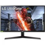 "image produit LG Ultragear 27GN800-B 27"" Moniteur Gaming - QHD 2560 x 1440, IPS 1ms 144 Hz, HDR 10, sRGB 99% (NVIDIA Gsync, AMD FreeSync Premium, Mode DAS, Black Stabilizer, Crosshair) - livrable en France"