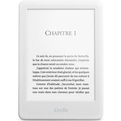 image Kindle, maintenant avec un éclairage frontal intégré - Avec publicités, Blanc