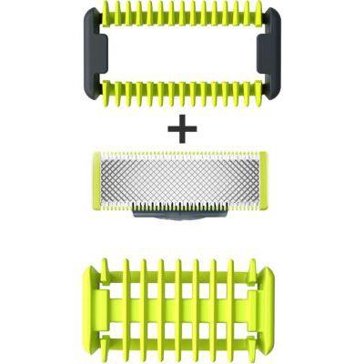 image OneBlade QP610/50 kit lames Corps (1 lame + Système de protection des zones sensibles + 1 sabot corps)