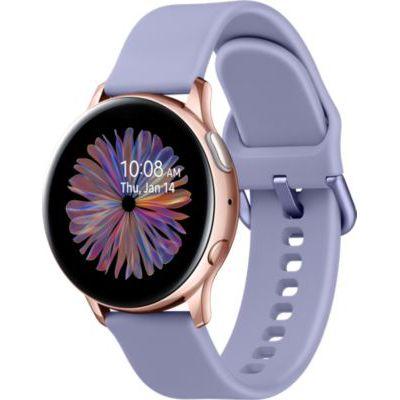 image Samsung - Montre Galaxy Watch Active 2 Bluetooth - Aluminium 40 mm - Or Rose - Version Française