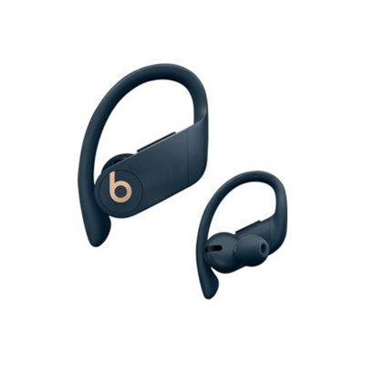 image Beats by Dr. Dre PowerbeatsPro sans fil- Puce AppleH1 pour casques et écouteurs, Bluetooth classe1, 9heures d'écoute, écouteurs résistants à la transpiration- Marine