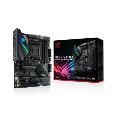image ASUS ROG STRIX B450-E GAMING - carte mère GAMING (AMD Ryzen B450 Socket AM4 ATX DDR4, Aura Sync)