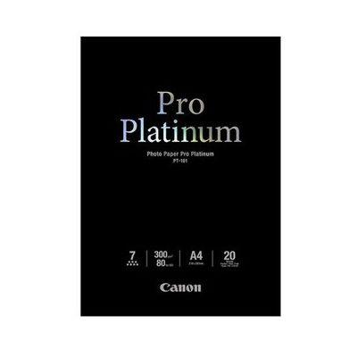 image Canon PT-101 Papier Photo Pro Platinum Format A4 (20 feuilles)