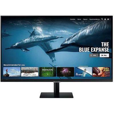 image Samsung Smart Monitor M7 32'' en resolution UHD 4K. Le 1er écran tout-en-un pour accéder facilement à vos applications de divertissement et travail
