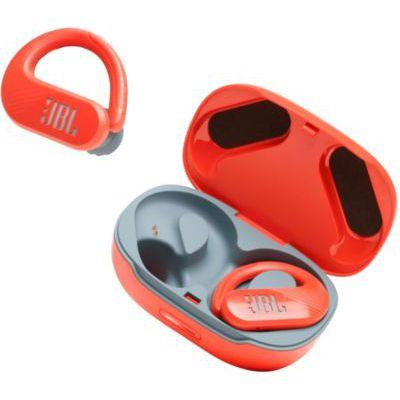 image JBL Endurance Peak II – Écouteurs de sport étanches sans fil avec étui de recharge – Corail