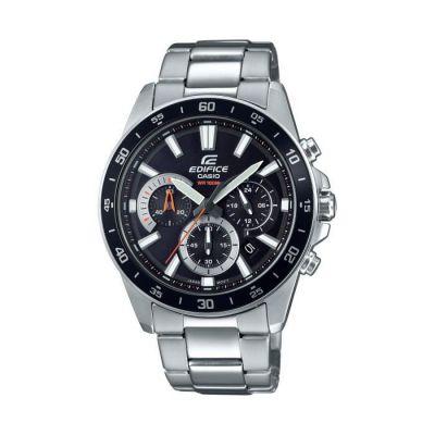 image Casio Edifice Homme Analogique Quartz Montre avec Bracelet en Acier Inoxydable EFV-570D-1AVUEF