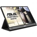 "image produit ASUS Zenscreen Go MB16AHP - Ecran portable 15.6"" FHD - Télétravail ou gaming - Alimentation et affichage via USB-C ou USB-A - Batterie intégrée (4h) - Dalle IPS - 220cd/m² - Haut-parleurs - livrable en France"