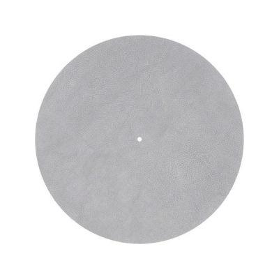 image Pro-ject plattentellerauflagematte slipmat ledermatte/gris)