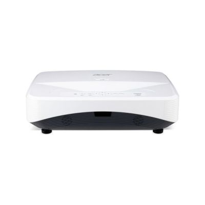 image Acer UL6500 Projecteur, résolution 1080p, Contraste 13 000:1, luminosité 5 500 ANSI, Connexion VGA, HDMI, Port Ethernet, Haut-Parleur, Blanc