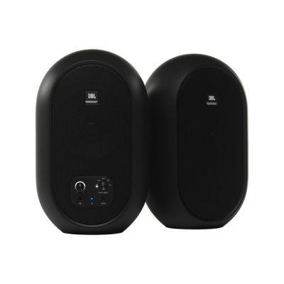image JBL Professional 1 série 104-BT avec Bluetooth, noir, vendus par paire, (JBL104-BT), Moniteurs de référence de bureau compacts