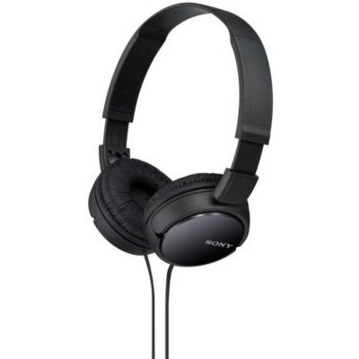 image Sony MDR-ZX110B Casque Pliable - Noir