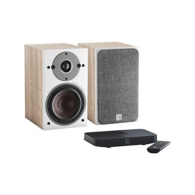image Dali Oberon 1 C Chêne Clair + Sound Hub Compact