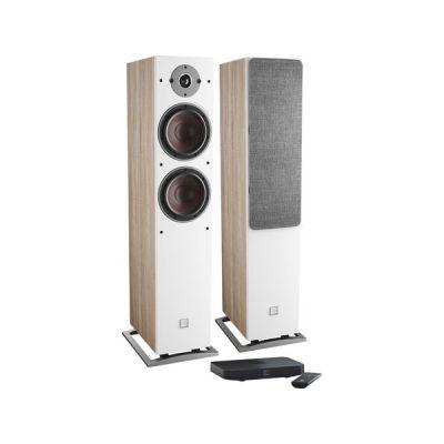 image Dali Oberon 7 C Chêne Clair + Sound Hub Compact