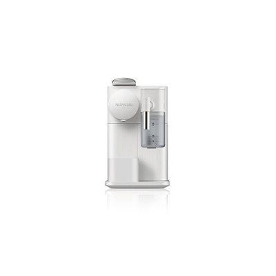 image De'Longhi Lattissima One Evo, Machine à café en capsules à usage unique, mousseur de lait automatique, cappuccino et lait, EN510.W, 1450W, blanc