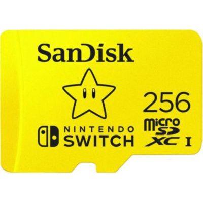 image SanDisk Carte Nintendo Switch 256 Go + Instant Sports