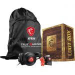 image produit Loot Box 2 ( Casque gaming + Sac MSI + porte clés Lucky Dragon)