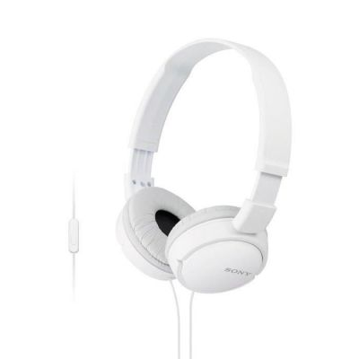 image Sony MDR-ZX110APW Casque pliable avec Microphone Blanc