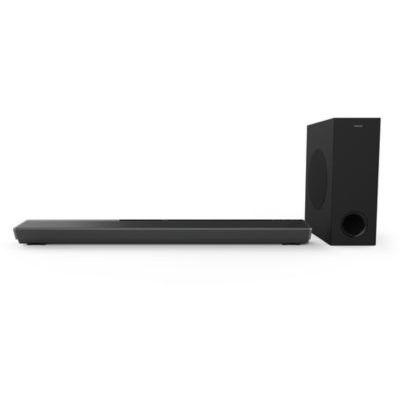 Philips Audio B8805/10 TV Barre de Son Caisson de Basse sans Fil (3.1 Canaux, 400 W, Bluetooth, Dolby Atmos, HDMI eARC, Compatible DTS Play-FI, Assistants Vocaux, Profil Bas) - Modèle 2020/2021