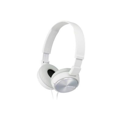 image Sony MDR-ZX310APW Casque Pliable avec Microphone - Blanc
