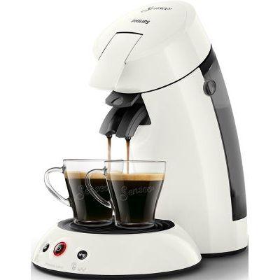 image Philips HD6554/11 Machine à Café à Dosettes Senseo Original Blanc Givré 0, 75 Litre