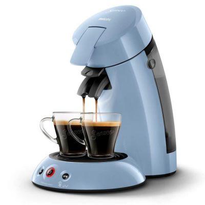 image PHILIPS HD6554/71 Machine à café à dosette Original - Bleu pastel