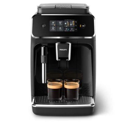 image Philips EP2221/40 Machine Espresso automatique Séries 2200 Mousseur à lait Noir Laqué