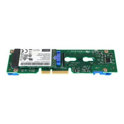 LENOVO Contrôleur de stockage ThinkSystem M.2 Enablement Kit - M.2 - SATA 6Gb/s - 6 Gbit / s
