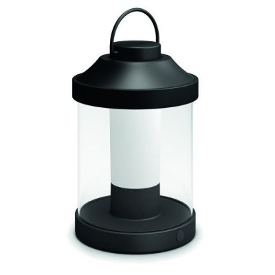 image Philips 1736030P0 ABELIA lanterne portable 1 x 1,5 W LED noir