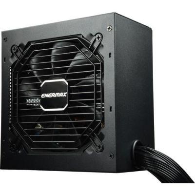 image ENERMAX Max Pro II 600W 80 Plus EU ATX alimentation PC, câbles plats, (protection contre court-circuit, surtension, sous-tension, surintensité, surchauffe, surpuissance)