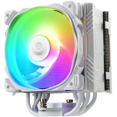 image Enermax - ETS-T50A-W-ARGB - Ventirad 230W TDP pour Intel / AMD Ryzen (blanc)