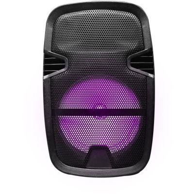 image Blaupunkt - MP3975-133 - Enceinte LED Multicolore avec Support Pieds- Compatible Bluetooth - 15W - Noir