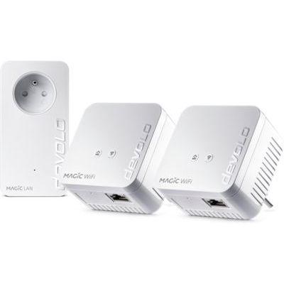 image Devolo Magic 1 Wifi Mini : Kit CPL Multiroom Compact, Idéal pour le Télétravail et le Streaming