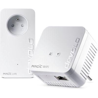 image Devolo Magic 1 Wifi Mini : Starter Kit CPL compact, idéal pour le télétravail et le streaming