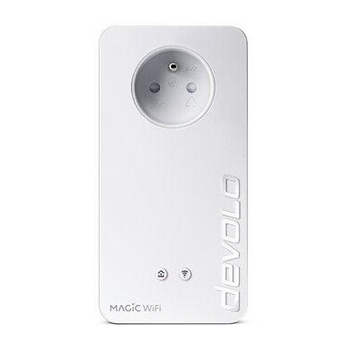 image devolo Magic 2 WiFi next : Adaptateur CPL WiFi le plus rapide du monde (2400 Mbits/s, 2 ports Ethernet Gigabit) idéal télétravail et streaming