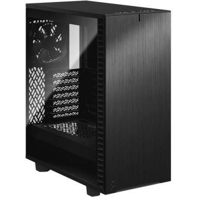 image Boitier PC FRACTAL Design Define 7 Compact Black TG Dark (FD-C-DEF7C-02)*2177