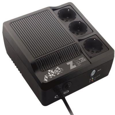 image Onduleur Z1 Zenergy Cube EX 600 VA, 3 prises secourues