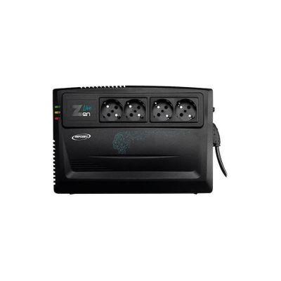image INFOSEC Zen Live 800 - Onduleur Line Interactive 800 VA 4 Prises FR/SCHUKO - Garantie 2 ans