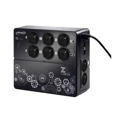 image Onduleur Z3 ZenBox EX 1000 VA, 4 prises secourues, 4 prises protégées