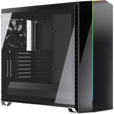 image Fractal Design Vector RS Tempered Glass Tower Noir, Transparent