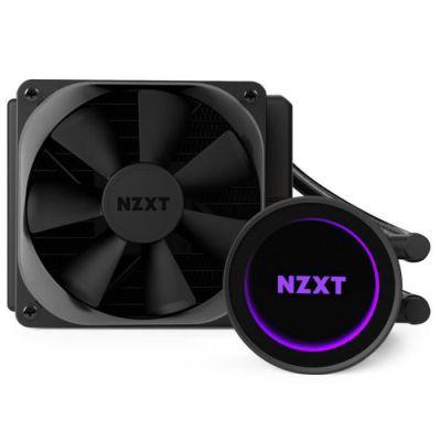 image NZXT Kraken M22 120mm - Refroidisseur liquide de processeur RGB tout-en-un - Avec fonctionnalité CAM - Tubes prolongés et renforcés - Ventilateur de radiateur PWM Aer P 120mm (inclus)